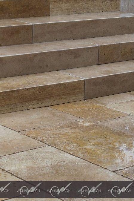ehrfurchtiges terrassenplatten travertin classic cool bild oder bedafcafecbedada