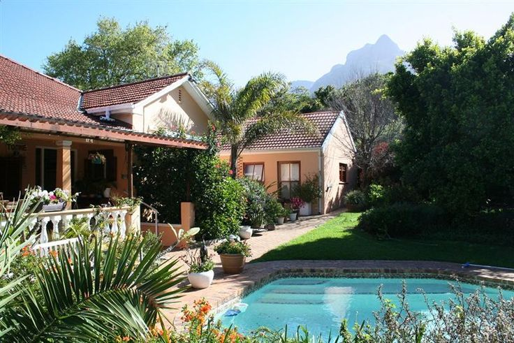 Belmont Bed and Breakfast - Very private luxury garden suites in the heart of the Cape Peninsula.  Bed and breakfast accommodation with lovely garden settings and pool.  Rooms are large and well equipped with DSTV channels, bar fridge, ... #weekendgetaways #capetown #southafrica