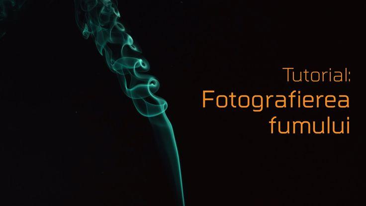 Cum sa fotografiezi fumul - Tutorial cu Dragos Asaftei