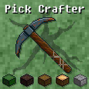Speel Pick Crafter op FunnyGames.nl! Pick Crafter is een spel waar wij van houden. Het combineert namelijk twee games waar wij bij FunnyGames dol op zijn. Minecraft en Cookie Clicker gecombineerd in één zeer verslavende game. Verzamel zoveel mogelijk grondstoffen om NOG meer grondstoffen te vergaren. Meer, meer meer. Alles!