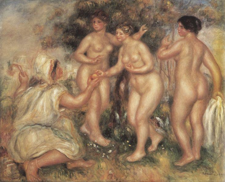Renoir, Pierre-Auguste: Das Urteil des Paris - Gemeinfrei