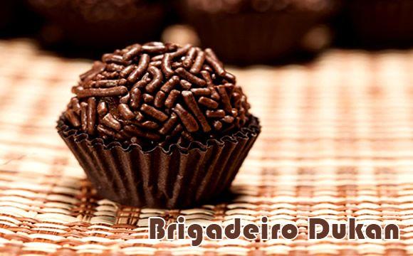 Brigadeiro Dukan - Cruzeiro PL #receitasdukan #dietadukan #brigadeiro