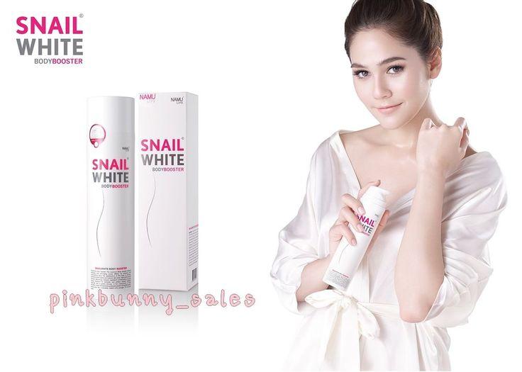 Body Cream Snail White  Booster Lotion Whitening Skin Smooth Brighter 201 g #SnailWhiteBodyBosster