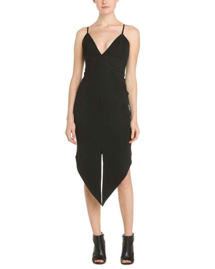 Whitney Eve Black Asymmetrical Hem Dress is on Rue. Shop it now.