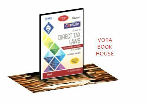 Title - Capsule Studies On Direct Tax Laws for CA Final 2017 - 18  Author - CA. Durgesh Singh  Publisher - Bharat law House  2nd edition 2017  Price - Rs.795/- #vorabookhouse #books #law #ca #final #exam #directtax #laws