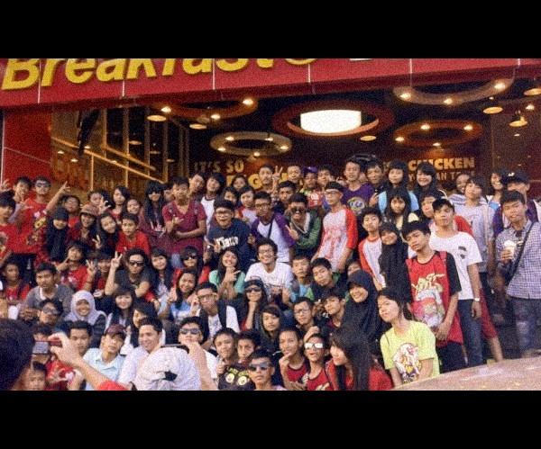 #OBTE CD Signing at KFC Kelapa Gading, Jakarta, Indonesia 2012