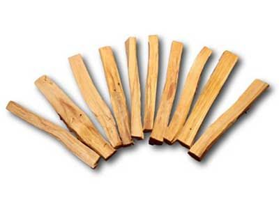 Palo Santo - Whenever you burn it, not only does it raise your vibration, but it helps to connect you to the divine source as well as Mother Earth.