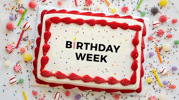 September 16 is the most common birthday in America, and we can all get in on the fun. Because even if its not during this week, we have a hunch that you and someone you know will have a birthday SOMETIME this year.