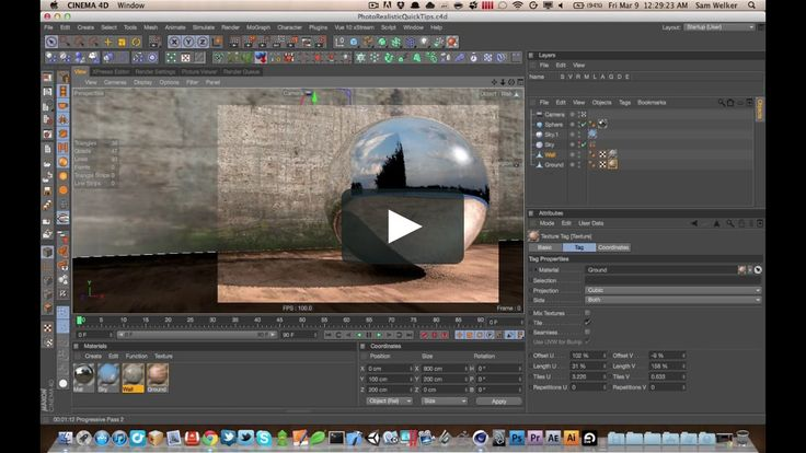 Cinema 4D Tutorial 20 - Physically Based Rendering discussion in C4D R13 on Vimeo
