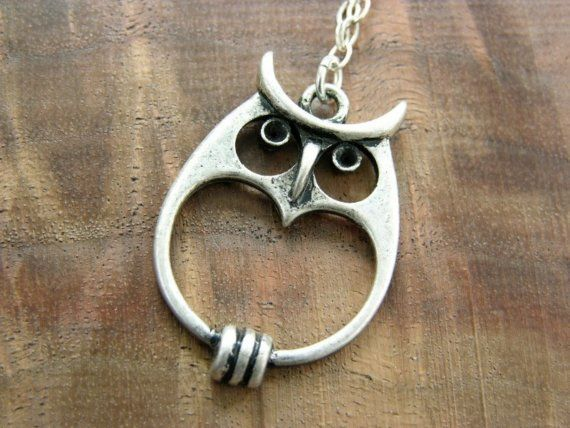 I own this owl pendant and I never take it off... I've always had a special love and feeling for owls... ;-)