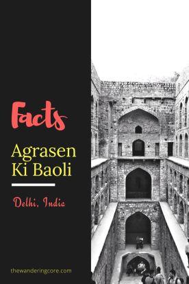 Fun facts about Agrasen Ki Baoli, Delhi, India  #india #delhi #agrasenkibaoli #travel #thewanderingcore #wanderingdelhi