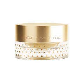 Orlane Creme Royale Contour Des Yeux Absoluta perfección, la jalea y el oro de 24 quilates tiene acción antiedad en el contorno de ojos, alisando los párpados, tonificándolos y permitiendo que las arrugas desaparezcan.