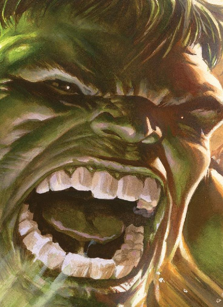 THE HULK BY ALEX ROSS