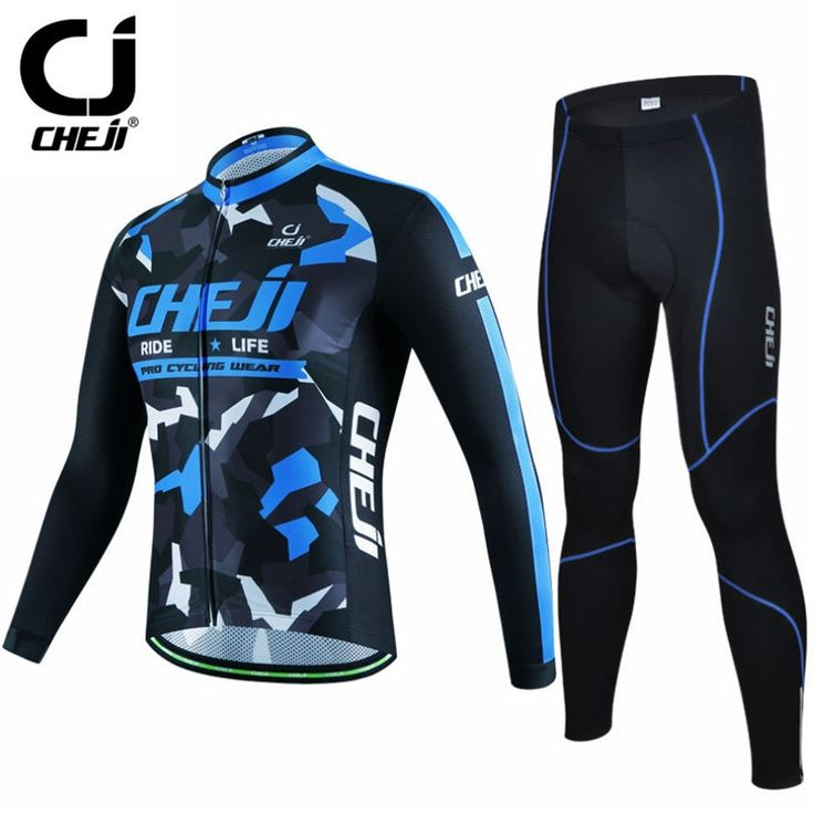 (42.48$)  Watch now  - 2016 New Men's Cheji Winter Cycling Clothing/Ropa Invierno Ciclismo Bicycle Sportswear/Warm Cycling Jersey mtb Bike Jersey Sets