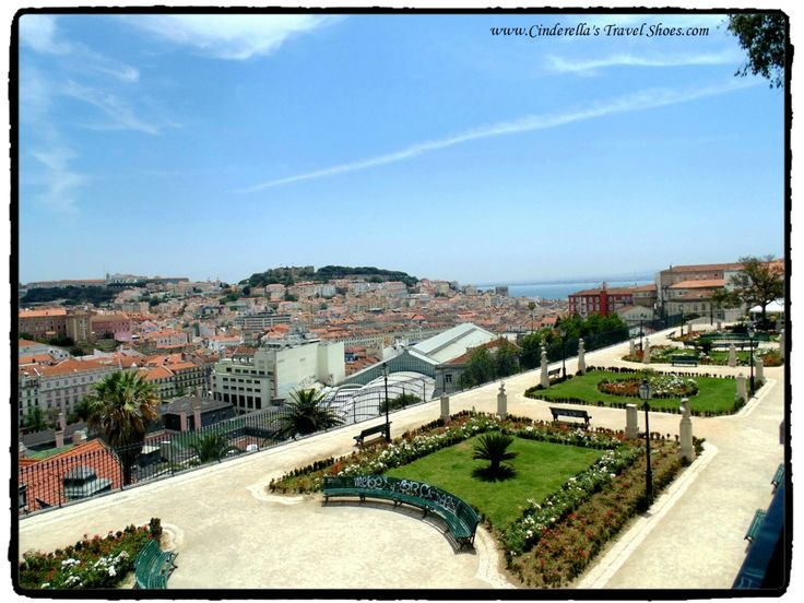 Beautiful gardens of Portugal