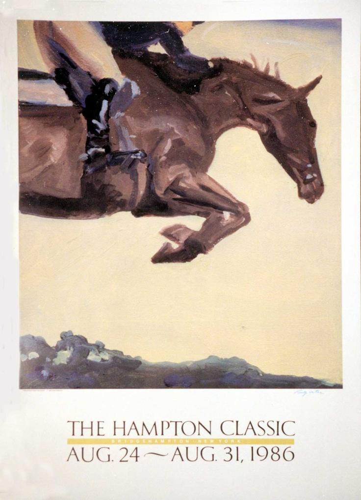 hampton classic '86 poster