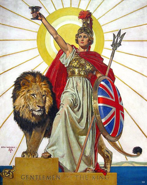 Britannia upon which at one time the sun never set
