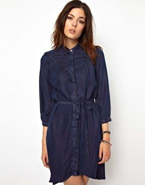 Image 1 ofLevi's Western Denim Dress