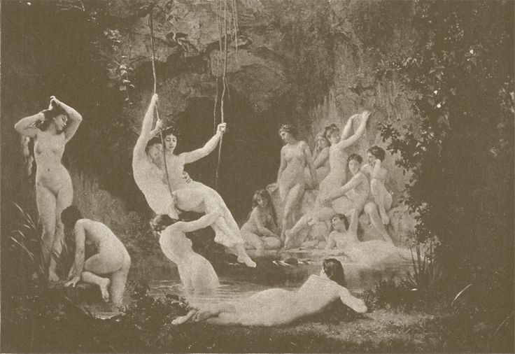 Nymphs - William Bouguereau