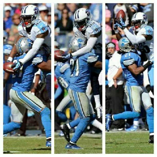 Nate Washington - Tennessee Titans  This play will be remembered for a long time.