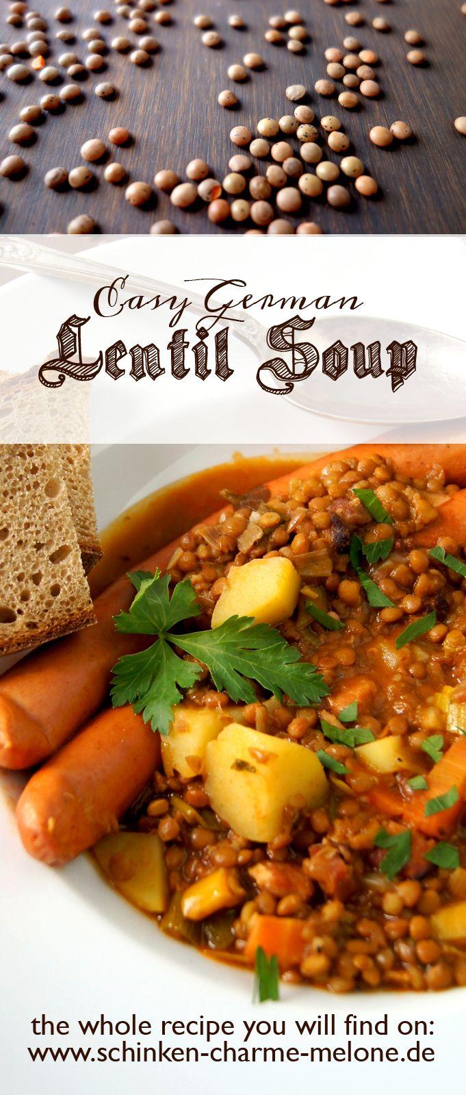 Mejores 23 imgenes de traditional german food recipes en pinterest german food our lentil soup recipe forumfinder Images