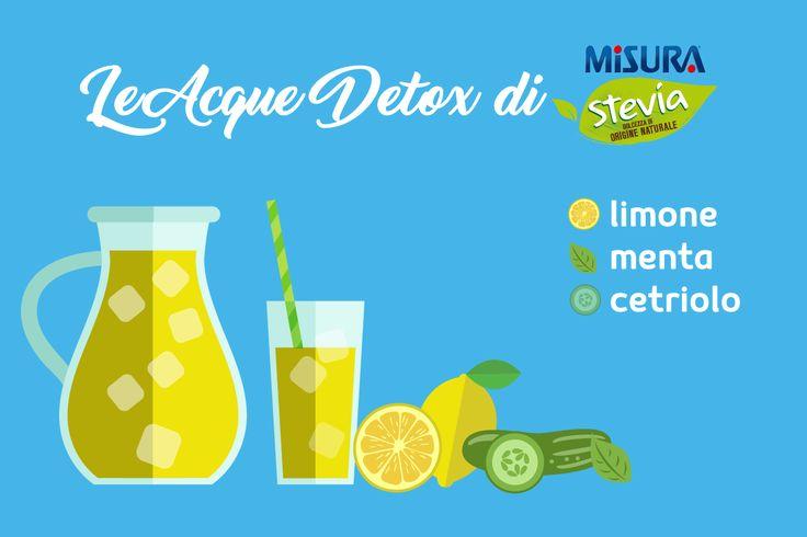 Le acque detox sono proprio molto cool. Nelle prossime settimane ve ne suggeriremo alcune davvero deliziose.  #lemon #water #detox #cucumber #mint