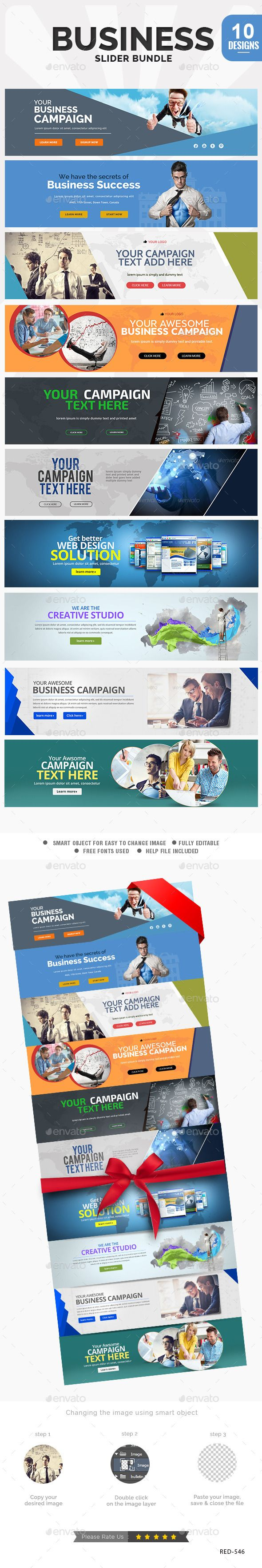 Business Sliders Bundle - 10 Designs Template PSD. Download here: http://graphicriver.net/item/business-sliders-bundle-10-designs/12618990?ref=ksioks