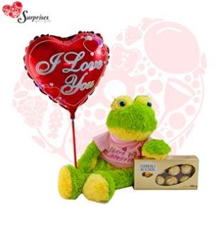 Sapito Love You forever. Muchas veces no sabemos cuál es el regalos ideal y con este hermoso REGALO encontraras la manera perfecta de decir ¡FELICIDADES! Estamos para servirte www.surprisesbogo... tel: 4380157 Cel: 3123750098