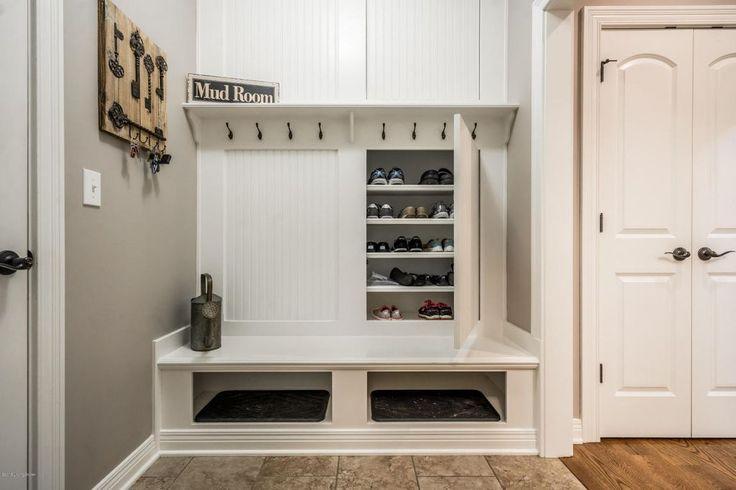 Clever storage! #mudroom homechanneltv.com