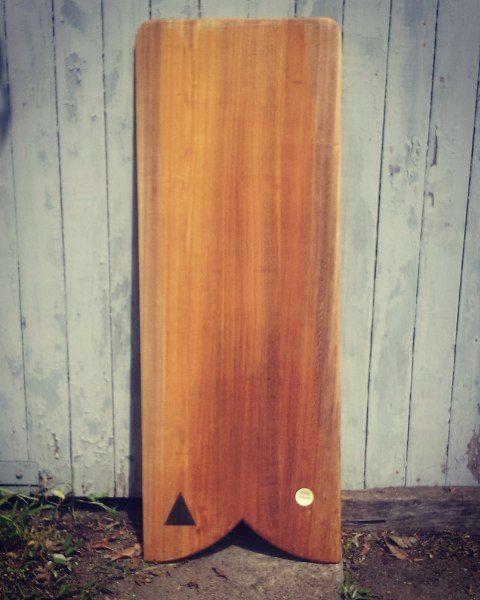 Fish tail plank finless paipo #timber #surfcraft #surf #handmade #glide #paipo #paulownia