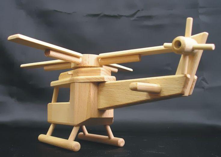 Eshop, kde najdete 2 skvělé helikoptéry - hračky ze dřeva.