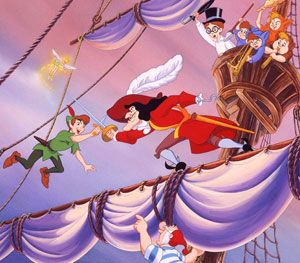 Dibujos de Peter Pan