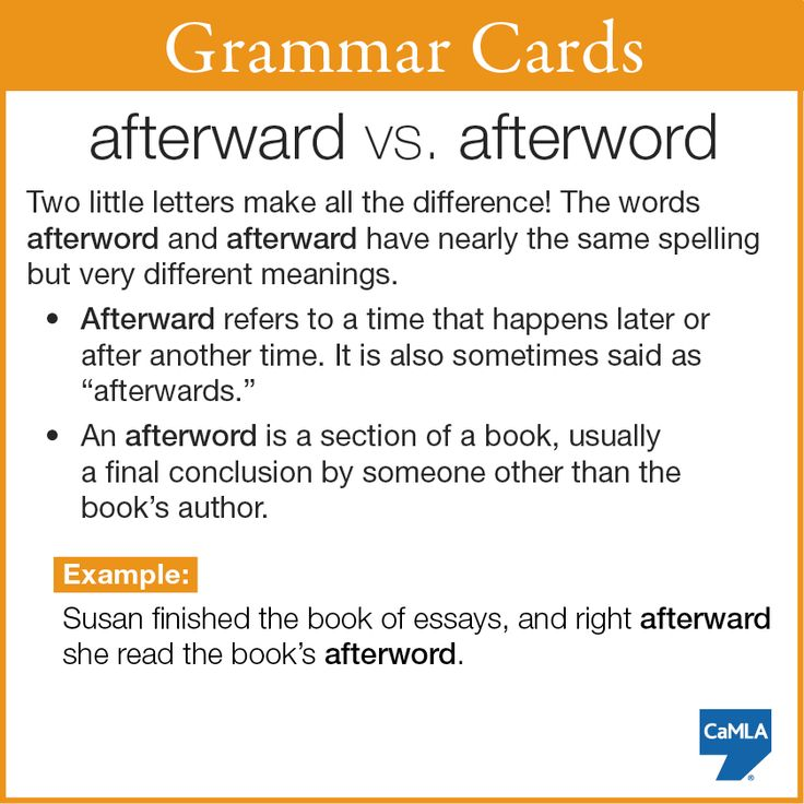 Can you think of other word pairs that have different meanings when you change just one letter?