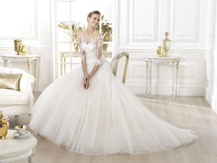 Unser neues Brautkleid der Woche ist das Modell Lavens von Pronovias ...