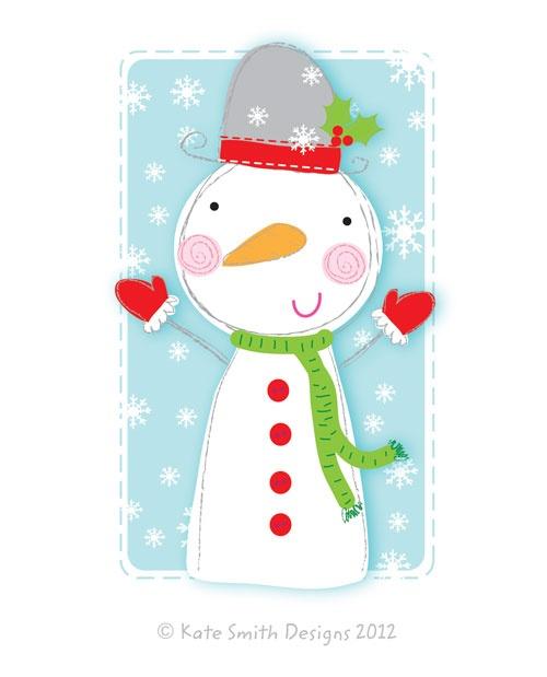 Christmas Snowman  - December 4th