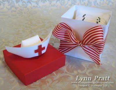 "Nurse's Box & 3"" x 3"" Cards | Stamp-n-Design Store"