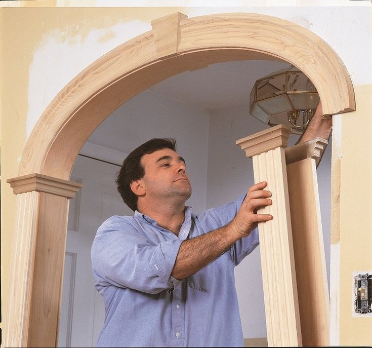 Archway Decor, Moldings And Trim
