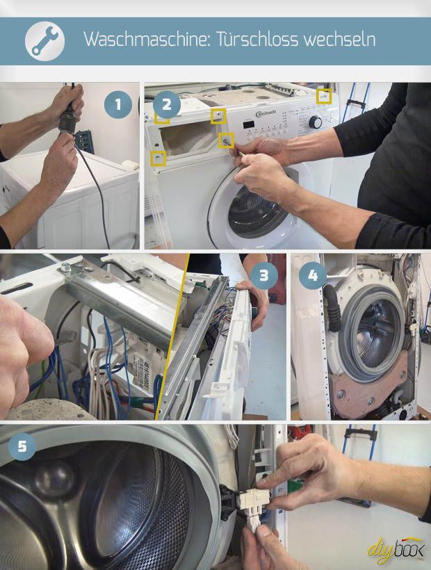 Bauknecht Waschmaschine Turschloss Wechseln Bauknecht