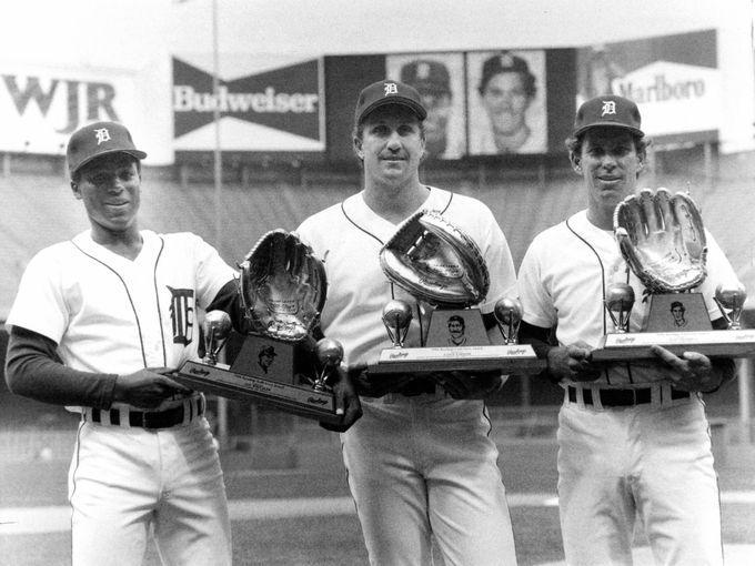 Alan Trammell Detroit Tigers Baseball Player Jersey