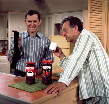 Tony Randall & Jack Klugman - As Felix Unger and Oscar Madison, The Odd Couple. The funniest show EVER
