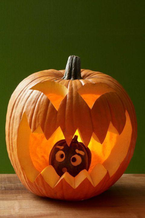 40 kreative Halloween-Kürbis-Schnitzideen Design…