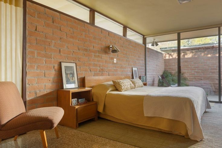2854 best mid century modern home images on pinterest for Mid century modern architects houston