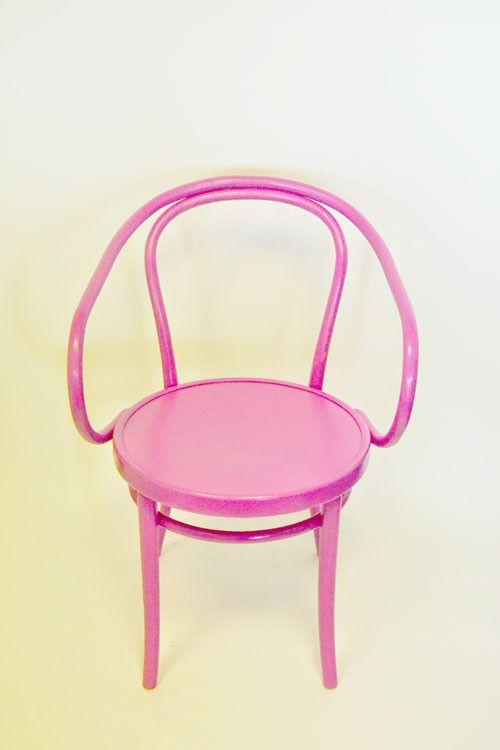 Thonet Bentwood Armchair {Pink Beauty}