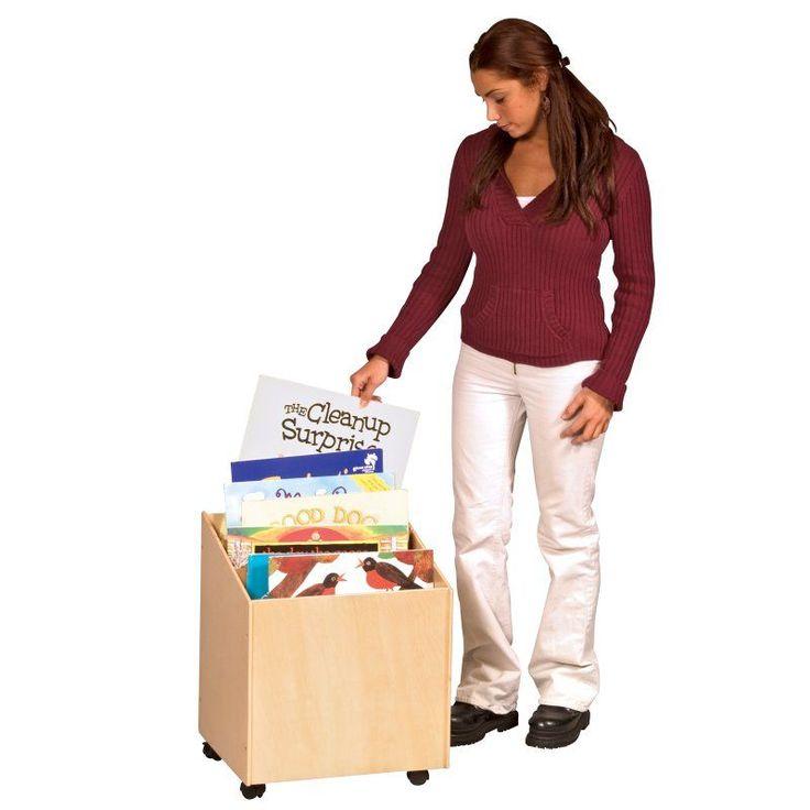 Guidecraft Big Book Storage Box Bookcase - G6429