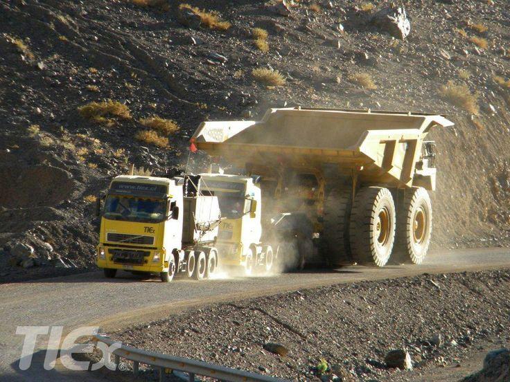La minería requiere de la potencia y fuerza que TIEX le imprime a cada proyecto que realiza.