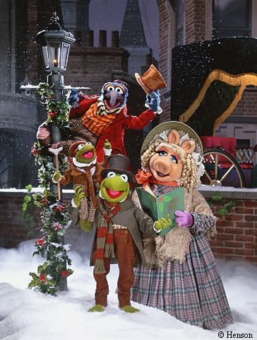 Muppets Christmas Carol.  I am a huge fan of both the book and the movies of Christmas Carol.  I have 3 different versions on DVD and this is actually one of the best.  Teriffic!