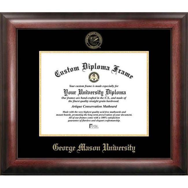 George Mason University Gold Embossed Diploma Frame Diploma Frame Certificate Frames Campus Images