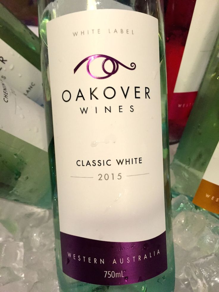 Oakover Wines 2015 Classic White - Swan Valley