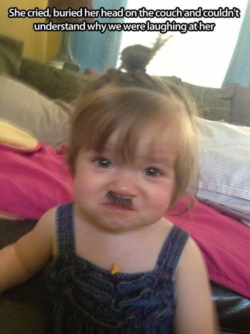 Haha! Poor Baby!