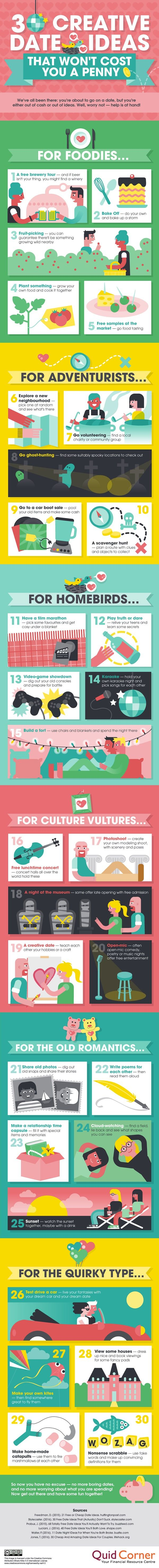 30 Creative Date Ideas That Won't Cost You A Penny - 9GAG
